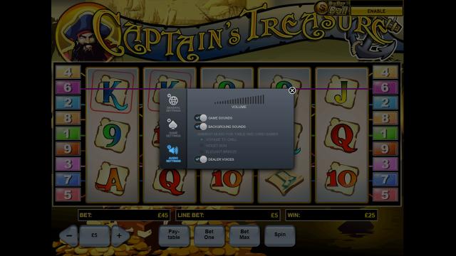 игровой автомат Captain's Treasure 8