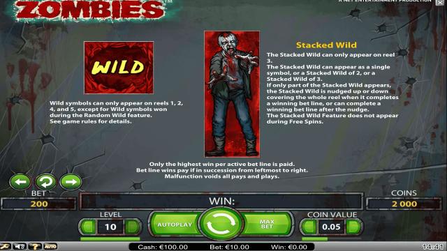 онлайн аппарат Zombies 1