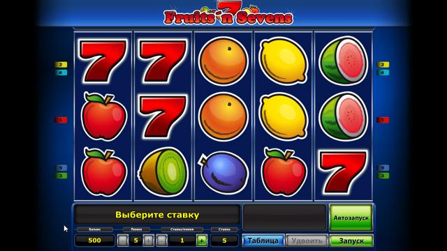 онлайн аппарат Fruits' N Sevens 2