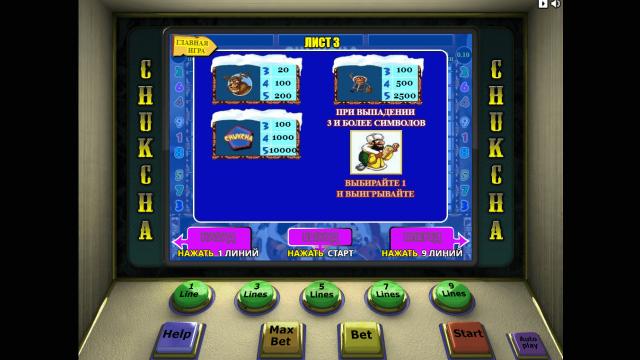 игровой автомат Chukchi Man 4