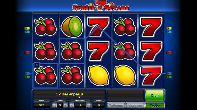 онлайн аппарат Fruits' N Sevens 8