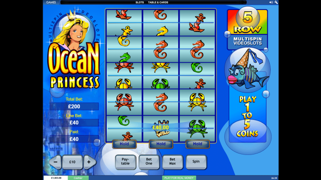 онлайн аппарат Ocean Princess 4