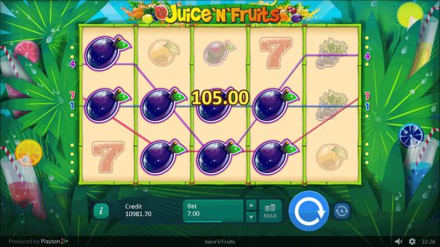 популярный слот Juice 'N' Fruits 4