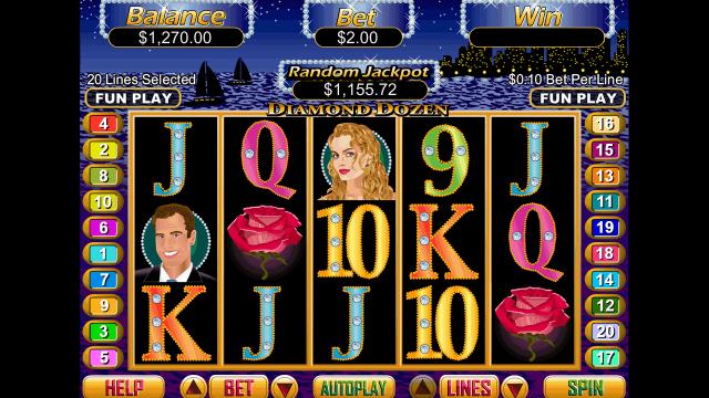 игровой автомат Diamond Dozen 10
