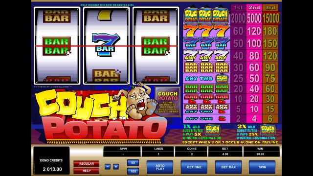 игровой автомат Couch Potato 5