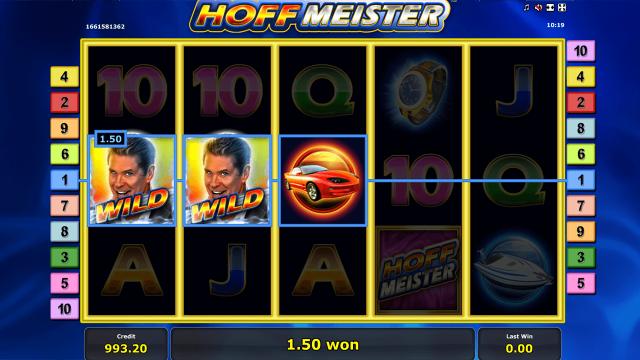игровой автомат Hoffmeister 5