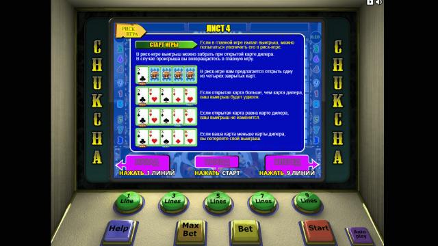 игровой автомат Chukchi Man 5