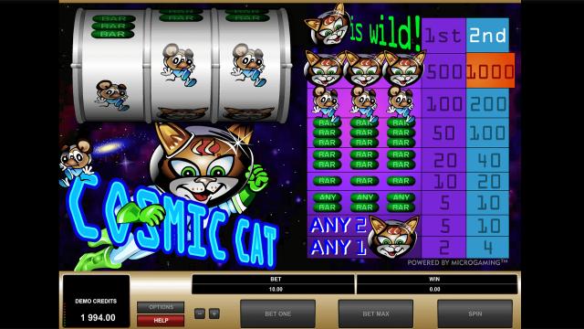 популярный слот Cosmic Cat 6