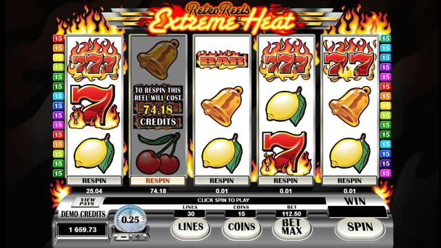 игровой автомат Retro Reels Extreme Heat 6
