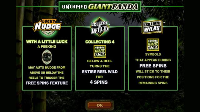 игровой автомат Untamed Giant Panda 1