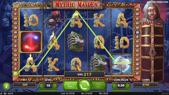 онлайн аппарат Mythic Maiden 7