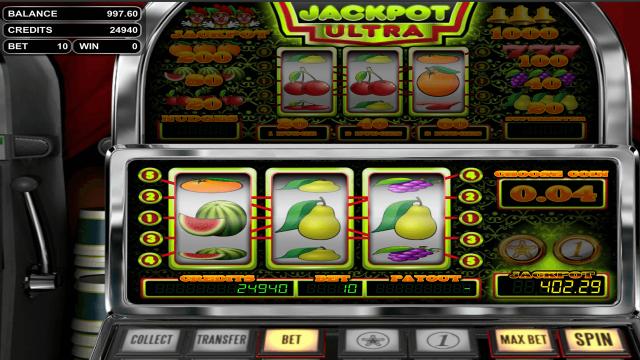 игровой автомат Jackpot Ultra 6