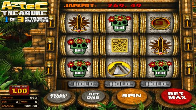 игровой автомат Aztec Treasure 2D 8
