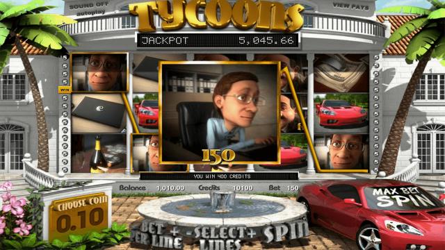 игровой автомат Tycoons 9