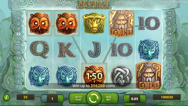игровой автомат Secret Of The Stones 10