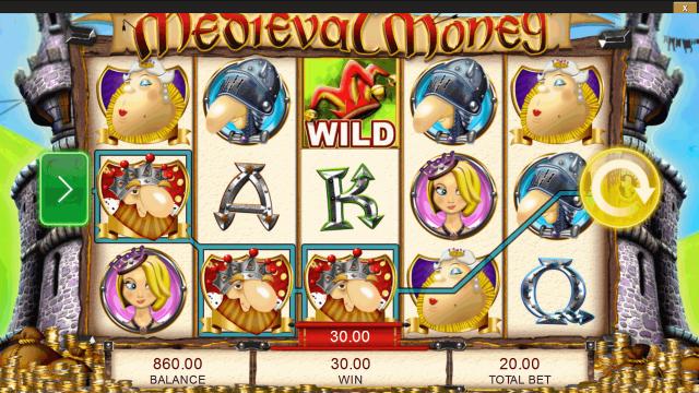 игровой автомат Medieval Money 4