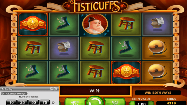 популярный слот Fisticuffs 3