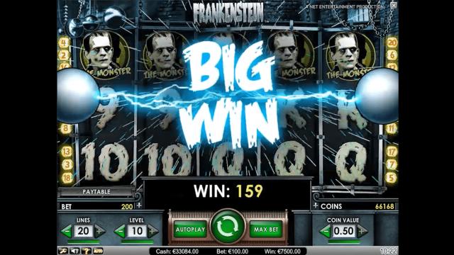 игровой автомат Frankenstein 9