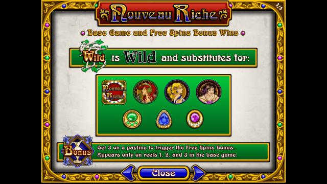 популярный слот Nouveau Riche 4