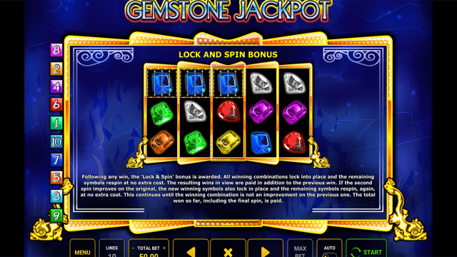 онлайн аппарат Gemstone Jackpot 7