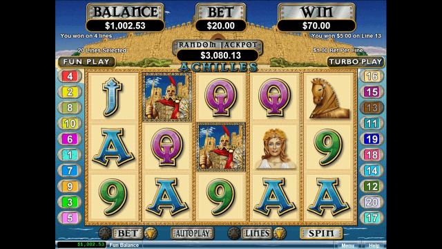 игровой автомат Achilles 7