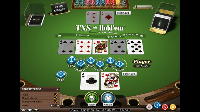 популярный слот TXS Hold'em Pro Series 10