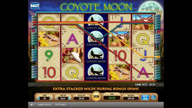 игровой автомат Coyote Moon 2