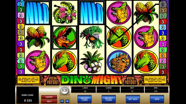 онлайн аппарат Dino Might 5