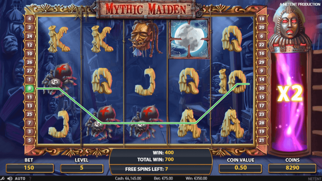игровой автомат Mythic Maiden 10