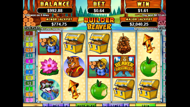 игровой автомат Builder Beaver 3