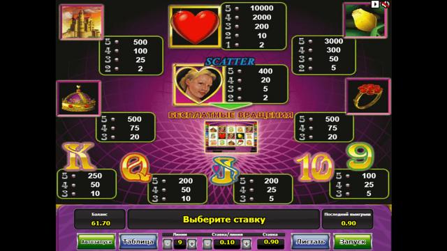онлайн аппарат Queen Of Hearts 9