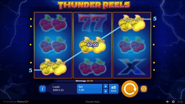 игровой автомат Thunder Reels 8