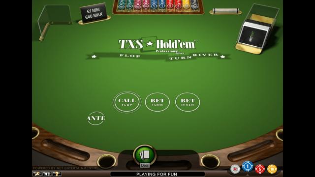 онлайн аппарат TXS Hold'em Pro Series 1