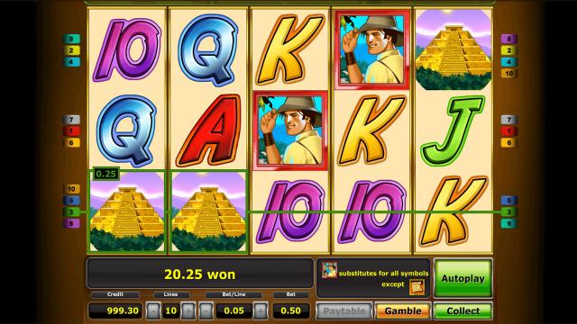 игровой автомат Quest For Gold 4