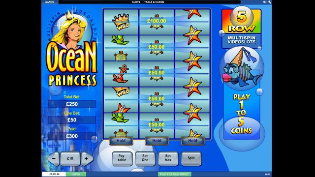 игровой автомат Ocean Princess 7