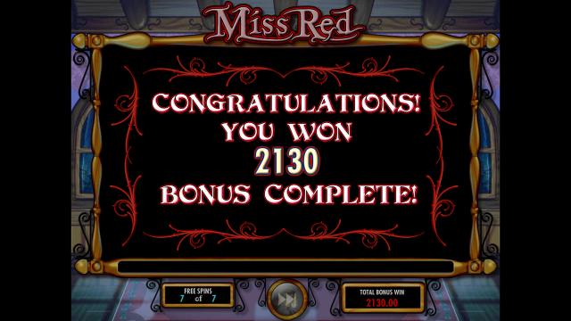 игровой автомат Miss Red 8