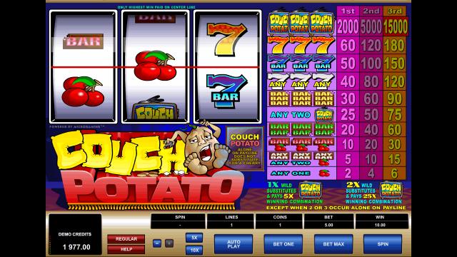 игровой автомат Couch Potato 7