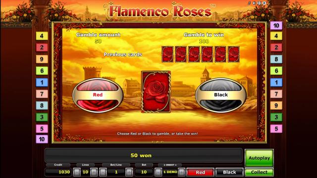 игровой автомат Flamenco Roses 5