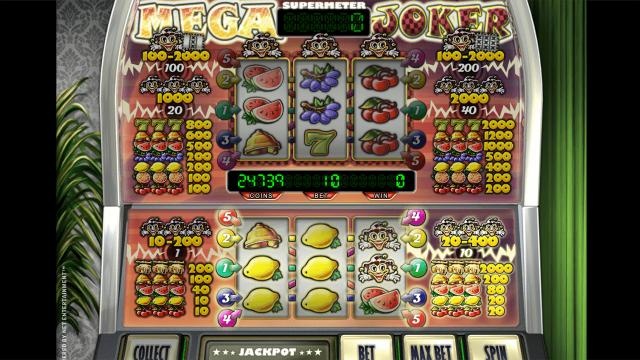 игровой автомат Mega Joker by Netent 7
