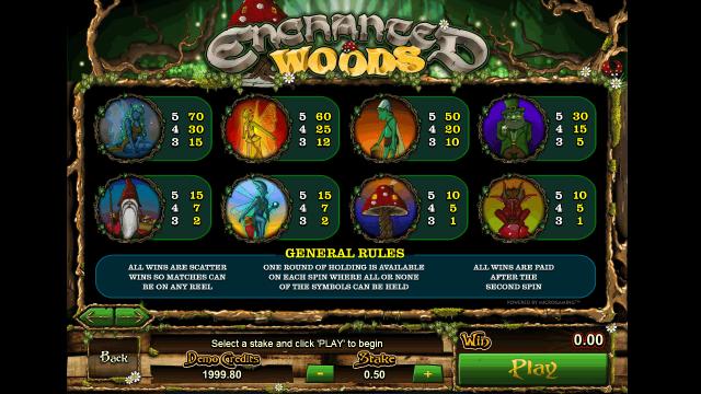 игровой автомат Enchanted Woods 8