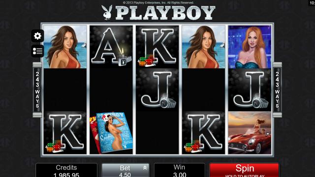 популярный слот Playboy 15