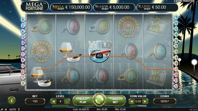 игровой автомат Mega Fortune 3