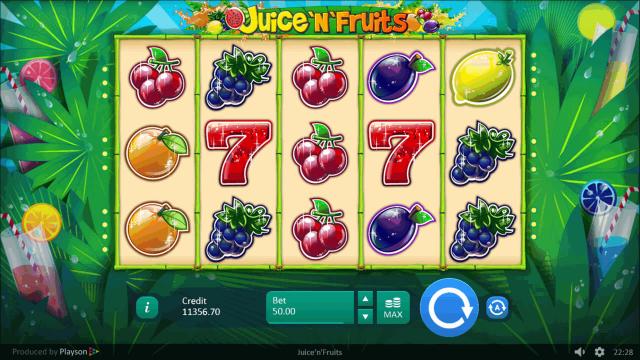 популярный слот Juice 'N' Fruits 9