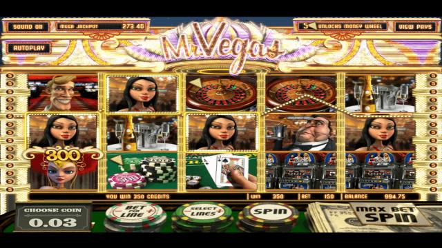 популярный слот Mr. Vegas 8