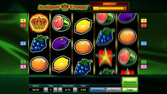 игровой автомат Jackpot Crown 4