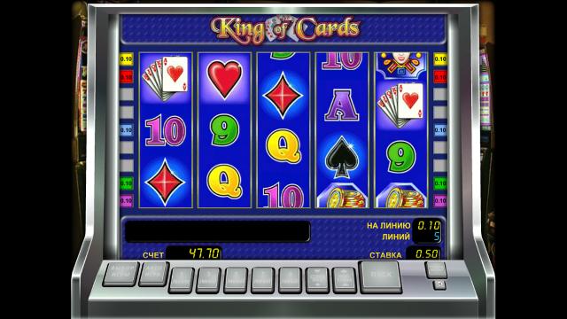 игровой автомат King Of Cards 9