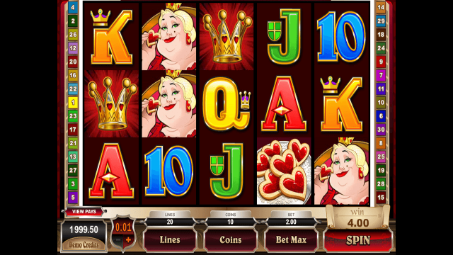 игровой автомат Rhyming Reels Queen Of Hearts 2