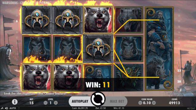 популярный слот Warlords - Crystals Of Power 2