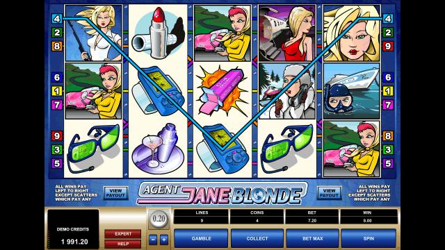онлайн аппарат Agent Jane Blonde 7