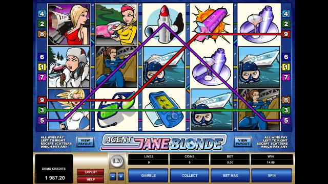 онлайн аппарат Agent Jane Blonde 8